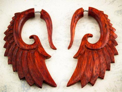 Aretes de madera
