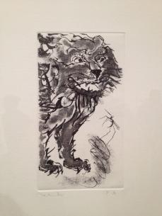 """Francisco Toledo """"El León y el Ratón"""" 2013"""
