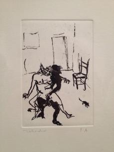 """Francisco Toledo """"La Gata convertida en mujer"""" 2013"""