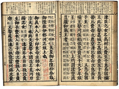 Ejemplar del Kojiki