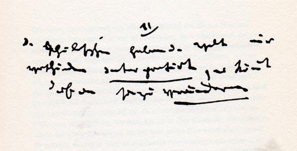Manuscrito de la onceava tesis sobre Feuerbach.