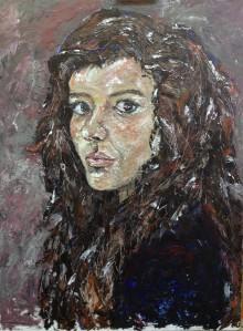 Dayana Cuellar, Autorretrato, 2014